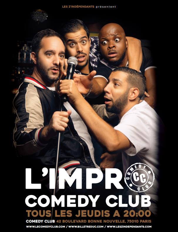 Les z'indépendants au Jamel Comedy Club